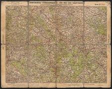 Continental Straßenkarte für Rad- und Kraftfahrer. Glatz Nr. 37