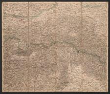Übersichtskarte von Mittel-Europa. D.2. Krakau, Przemyśl, Jaroslau, Kaschau, Leutschau