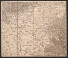 Übersichtskarte von Mittel-Europa. D.3. Szegedin, Grosswardein, Ó Arad, Erlau, Szolnok