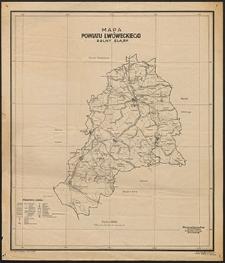 Mapa powiatu lwóweckiego : Dolny Śląsk