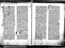 Lectionarium Cisterciense homiliarum sanctorum patrum de sanctis per circulum anni