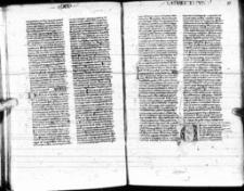 Biblia Latina cum prologis. - Alphabetisches Namen-Register.