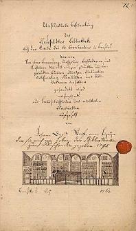 Umständliche Beschreibung der Neustädter Bibliothek bey der Kirche des H. Bernhardins in Breslau [...] von Johann Dawid Wolf, einen Liegnitzer.