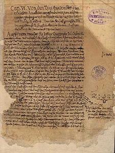 Almanach und Schreibkalender 1594-1609