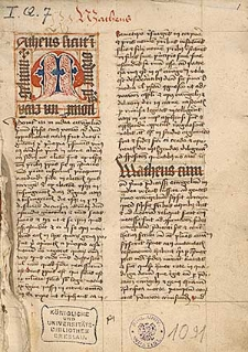 Bibliae sacrae partes; Vita et origo Constantini; Veteris testamenti partes cum prologis