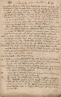 [Odpisy 3 dokumentów dotyczących cechu szewców i garbarzy miasta Zgorzelca]
