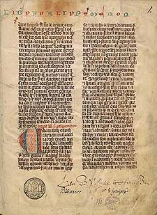 Biblia latina, pars II: Paralipomenon I-Ecclesiasticus