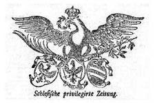 Schlesische privilegirte Zeitung. 1784-01-03 [Jg. 43] Nr 1