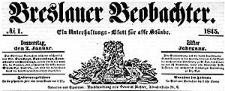Breslauer Beobachter. Ein Unterhaltungs-Blatt für alle Stände. 1845-03-01 Jg. 11 Nr 34