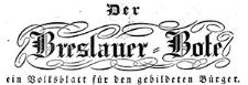Der Breslauer Stadt- und Landbote. Ein Volksblatt zur Unterhaltung und Belehrung für den gebildeten preussischen Bürger. 1833 Jg 1. Nr 2