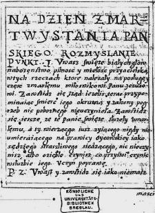 Erbauungsbuch in polnischer Sprache