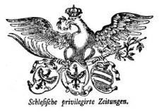 Schlesische privilegirte Zeitungen. 1768-03-16 [Jg. 27] Nr 33