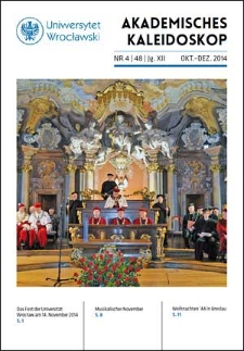 Akademisches Kaleidoskop Jg.12 Nr 4 (48) Oktober-Dezember 2014