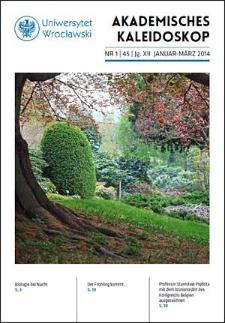 Akademisches Kaleidoskop Jg.12 Nr 1 (45) Januar-März 2014