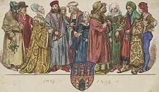 [Ubiory w Polsce 1200-1795. Przez J. Matejkę, 1447-1492, ryc. 26].