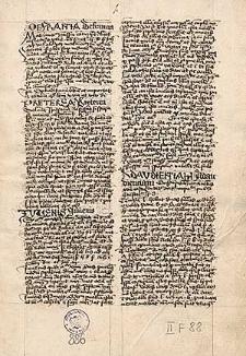 Casus summarii de matrimonio ; Tractatus de interdicto ; Varii casus in libros posteriores decretalium