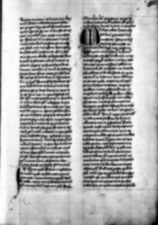 Collectio sermonum de tempore, de sanctis et de communi sanctorum. Pars aestivalis