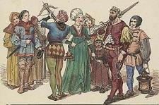 [Ubiory w Polsce 1200-1795. Przez J. Matejkę, 1507-1548, ryc. 36].