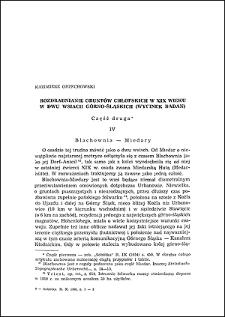 Rozdrabnianie gruntów chłopskich w XIX wieku w dwu wsiach górno-śląskich : (wycinek badań). Cz. 2