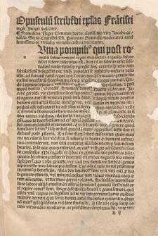 Fra[n]cisci nigri doctoris et Oratoris spectatissimi Compe[n]diosa Ars de Epistolis artifitiose exarandis.