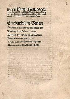 Epistolae ad Lucilium.