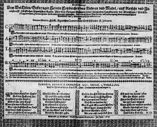 Trost Gesang: dem [...] Herren Friedrichen von Bebran und Model [...] uber dem seligen Abschiede seiner [...] Haussfrawen [...] Helenae Bebranin geborner Hobergin [...] mit 4. Stimmen gestellet und dediciret [...].