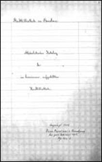 Stadtbibliothek zu Breslau. Alphabetischer Katalog der im Lesezimmer aufgestellten Handbibliothek.