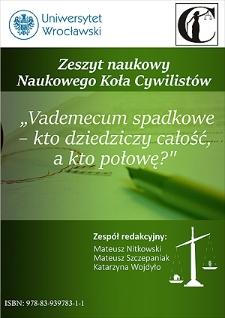 Zapis windykacyjny – novum w kodeksie cywilnym i kontrowersje dotyczące jego dopuszczalności w odniesieniu do majątku wspólnego małżonków