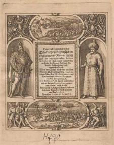 Historia chronologica Pannoniae [..] : was sich in denen Landen seyt der Suendflut hero biss auff jetztregierende [...] Rodulphum II [...] und Sigismundum Bathorium [...] angeordnet durch T. An. Privatum C. : [...] Item der tuerckischen persianischen Sultanen, Begen, Bassen Bildnussen und Leben von I. I. Boyssardo V. beschrieben [...] Alles [...] in Kupffer gestochen unnd von neuwem an Tag geben durch Diterich von Bry Leodien [...].