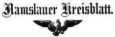 Namslauer Kreisblatt 1889-01-03 Jg.44 Nr 001