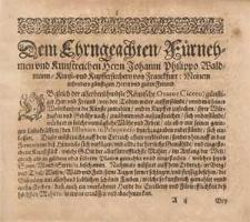 Thesauri Philo-politici oder politisches Schatz-Kästleins zweyten Buchs, vierter Theil [...].