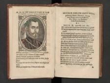 Verscheiden Poetixe Wercken. Van H. I. Vander Noot: Edelman vut Brabant.