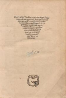 Sacri canonis misse expositio [...]