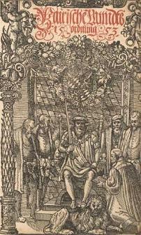 Bairische Landtsordnung 1553