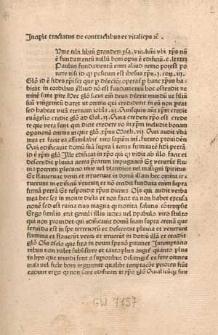 Tractatus de contractibus et vitalitiis.