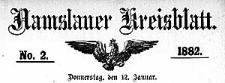 Namslauer Kreisblatt 1882-01-05 [Jg.37] Nr 1