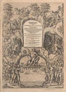 Das sechste Theil der neuwen Welt oder Der Historien Hieron. Benzo... das dritte Buch [...] / Alles mit schönen Kupfferstücken vorgebildet und an Tag geben durch Dieterich von Bry [...].
