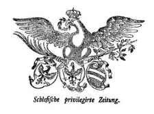 Schlesische privilegirte Zeitung. 1786-01-07 [Jg. 45] Nr 3