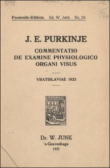Commentatio de examine physiologico organi visus