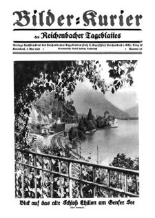 Bilder-Kurier der Reichenbacher Tageblattes 1928-05-05 Nr 19