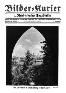 Bilder-Kurier der Reichenbacher Tageblattes 1928-05-26 Nr 22