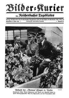Bilder-Kurier der Reichenbacher Tageblattes 1928-06-30 Nr 27