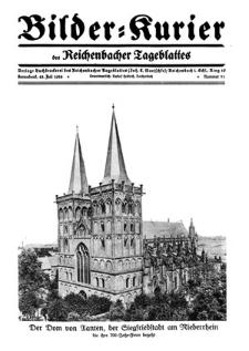 Bilder-Kurier der Reichenbacher Tageblattes 1928-07-28 Nr 31