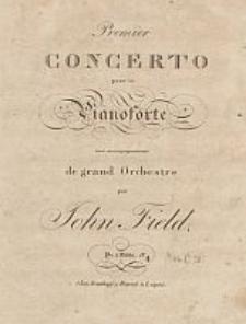 Premier concerto [Es-dur] : pour le pianoforte avec accompagnement de grand orchestre [...]