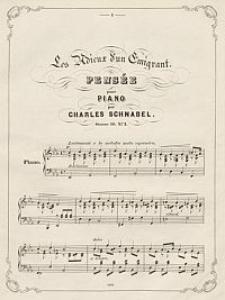 Les adieux d' un emigrant [z cyklu] Pensées musicales pour piano. Oeuv. 46. Nr. 1