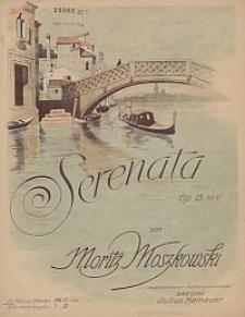 Serenata : für Piano zu 2 Händen Op. 15 No 1