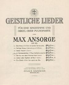 Im Harmesnächten [z cyklu:] Geistliche Lieder : für eine Singstimme und Orgel oder Pianoforte : Op. 23. No. 4