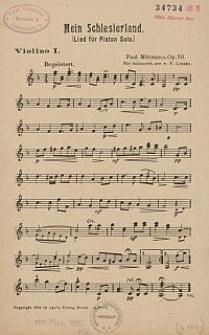Mein Schlesierland : (Lied für Piston solo) Op. 50.