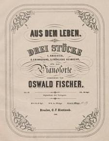 Fröhliche Heimkehr [z cyklu:] Aus dem Leben : drei Stücke für das Pianoforte : Op. 17. No. 3