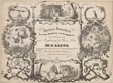Kleiner Haushalt : lÿrische fantasie von Fr. Rückert für eine Singstimme mit Begleitung des Piano-Forte. Op. 71